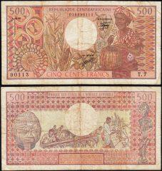 CentrafricanaRep500-1981-901