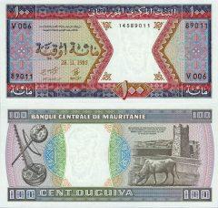 Mauritania100-1985