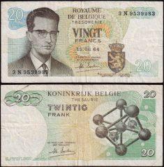 Belgio20-1964-3N95