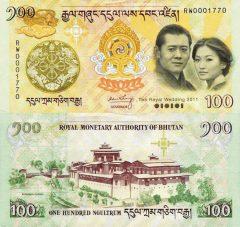 Bhutan100-2011comm