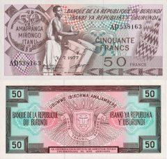 Burundi50-1977