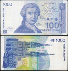 Croazia1000-1991-D011