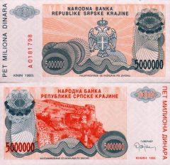 Croazia5mln-1993