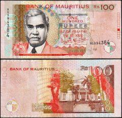 Mauritius100-1999-AG99