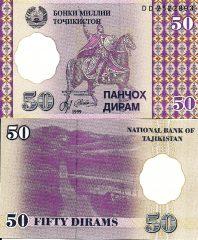 Tagikistan50-1999