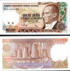 Turchia5000-1990