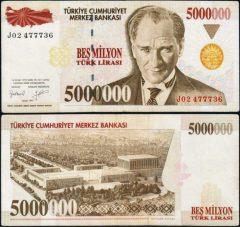 Turchia5mln-1997-J024