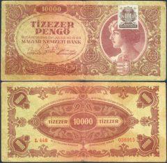 Ungheria10000-1945-L448