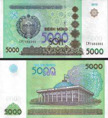 Uzbekistan5000-2013