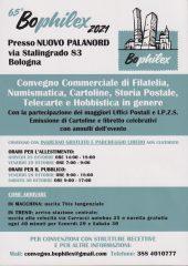 Volantino Bologna 2021