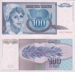 Yugoslavia100-1992