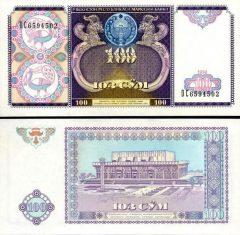 uzbekistan100-1994