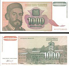 yugoslavia1000-1994
